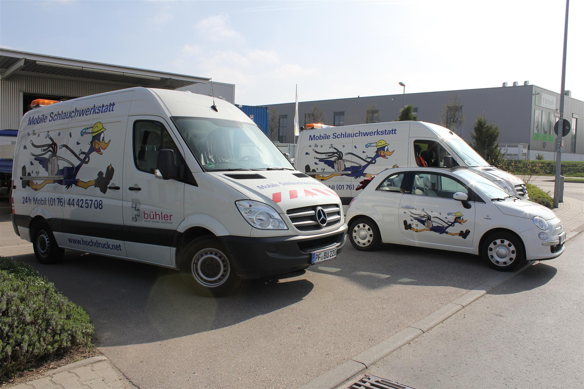 Hydraulikschauch-Service vor Ort